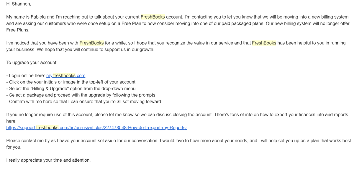 Not known Facts About Freshbooks Free Plan