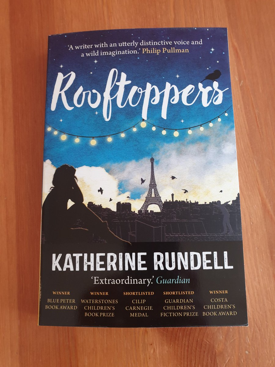 This just arrived  Can't wait to start reading it! #Rooftoppers #KatherineRundell @ShenazB #PrimarySchoolBookClub @_Reading_Rocks_pic.twitter.com/nkzhnuTjdE