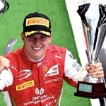 Driving the #F2004 and the first #F2 win: definitely a week to remember. Bravo ❤️ @SchumacherMick @insideFDA