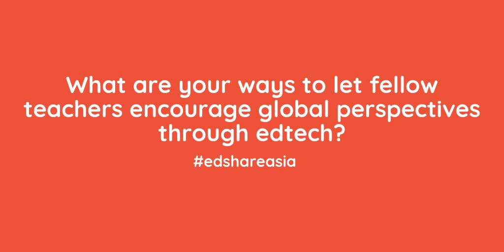 Let's share! #edshareasia