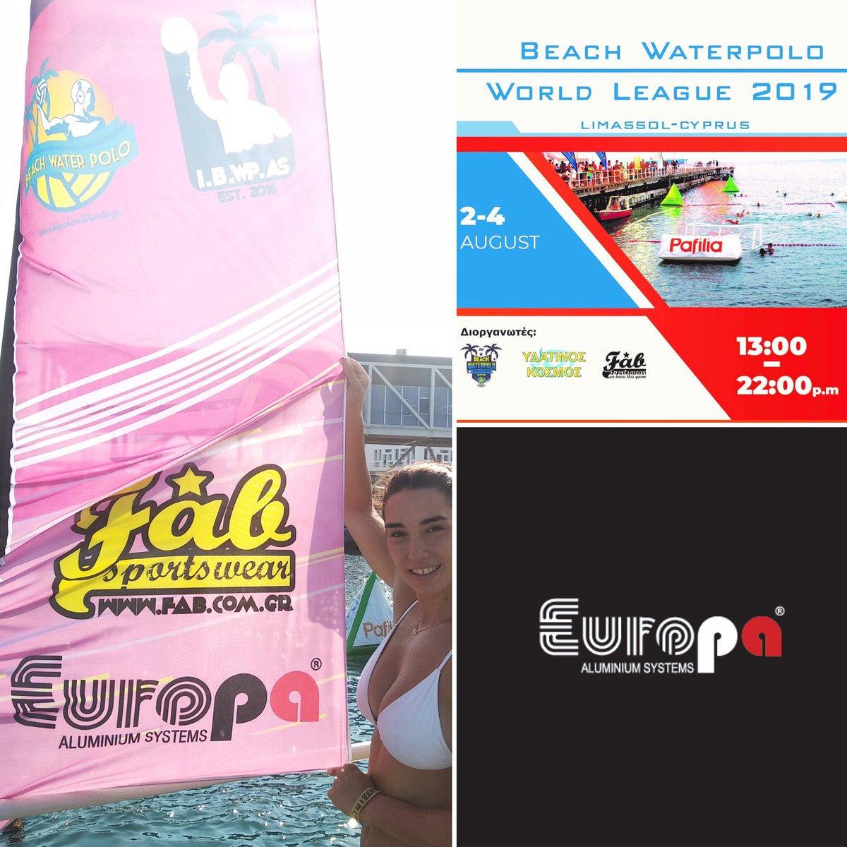 @EuropaProfil #live από το διεθνές 🌐 #beachwaterpoloworldleague #Limassol Night Edition 2019 📅 του International Beach #WaterPolo Association🤽 Σήμερα ο μεγάλος τελικός @ 21:15! ⭐️ #EuropaWins #Λεμεσός / #Κύπρος 🇨🇾 #beachpolistas #EuropaProfil😎 #BeachWaterpolo #Cyprus https://t.co/z5wf4UtIQs