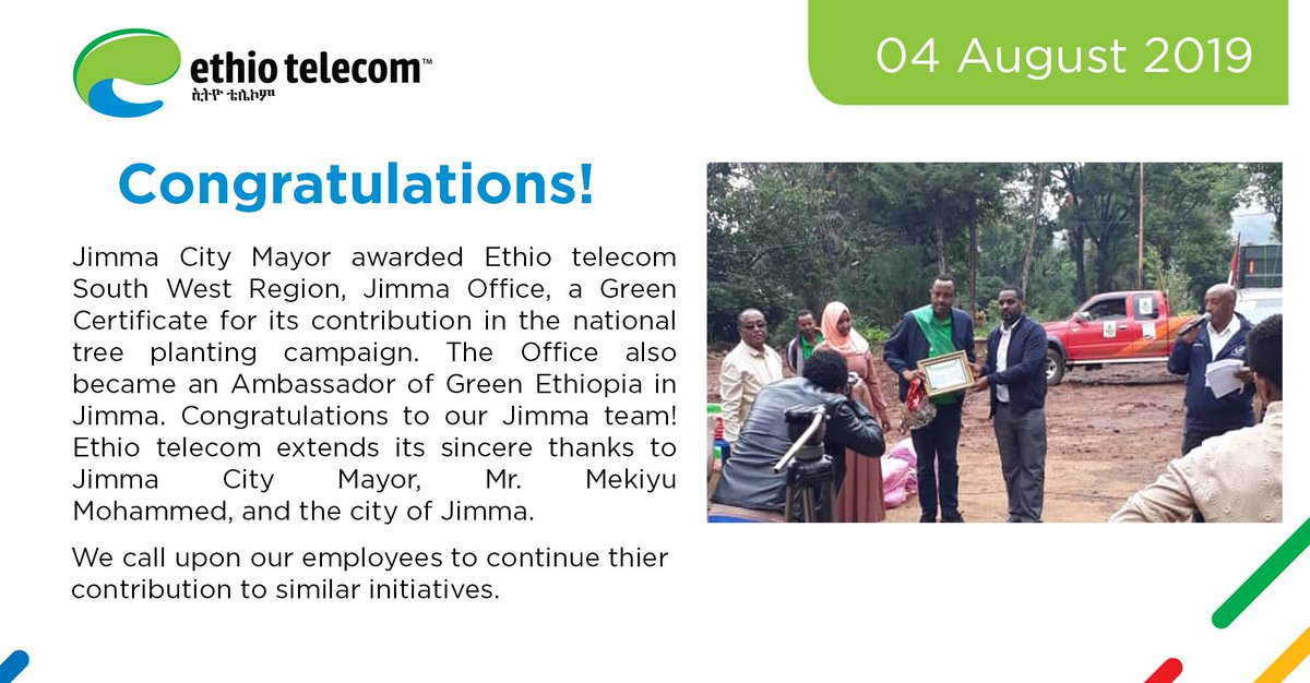 ethiotelecom hashtag on Twitter