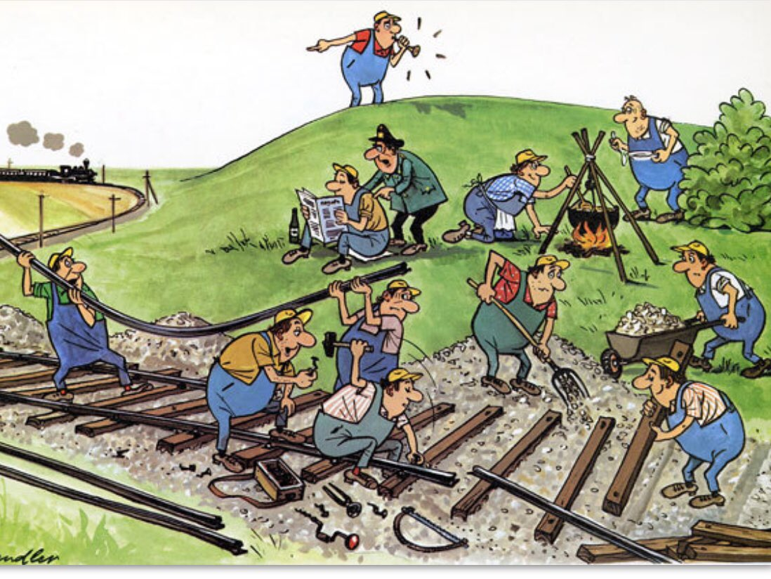Юморные картинки про железнодорожников