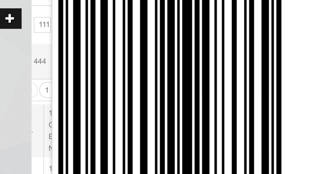 barcode hashtag on Twitter