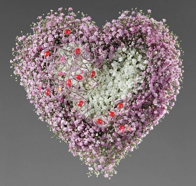 цветы гипсофила валентинка фото может, даже немножко