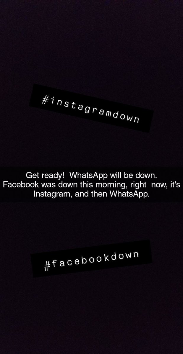 whatsappdown hashtag on Twitter