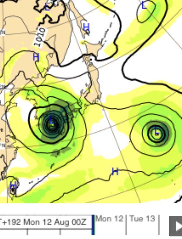 ヨーロッパ 台風 情報 ecmwf