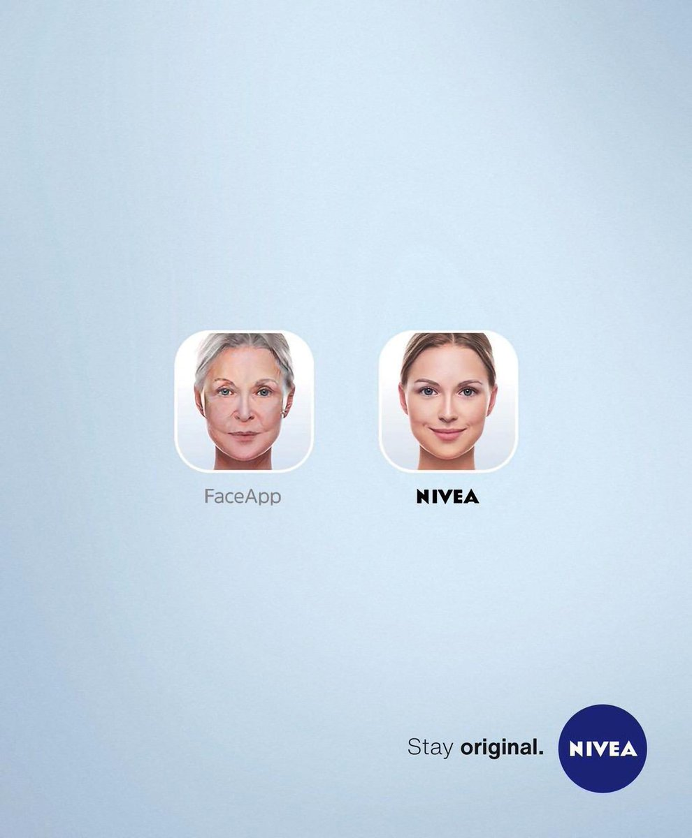 Stay original. With #Nivea 🔵 #advertisement #advertising #ad ...