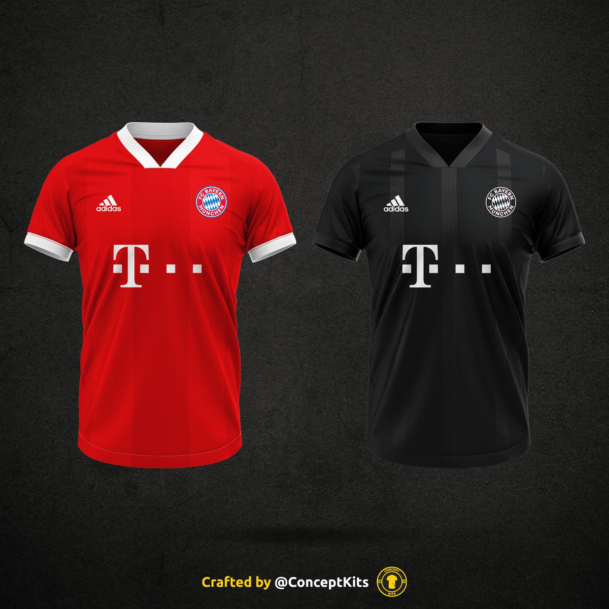 quality design 36ea8 1634c FC Bayern München home and away kit concepts for the 2020/21 ...