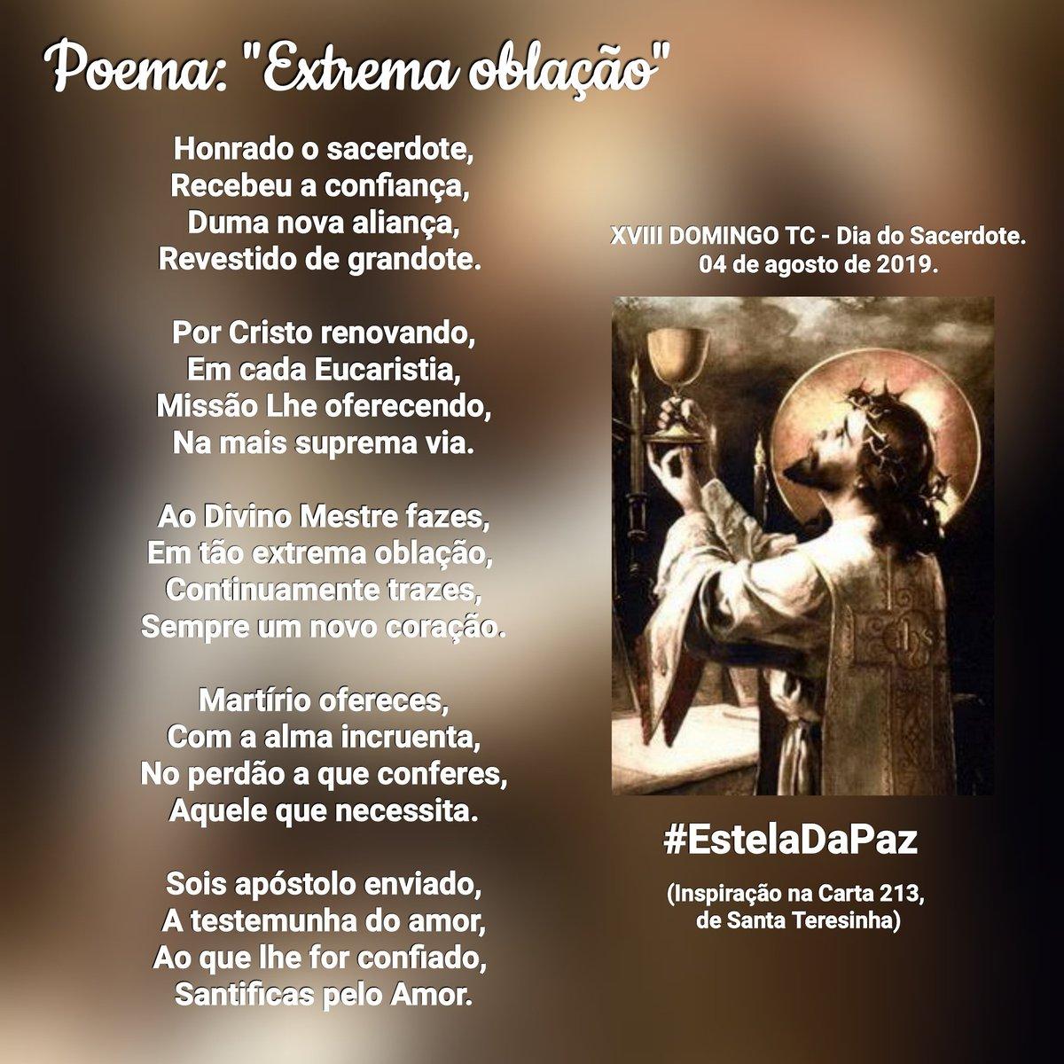 Alma Carmelita On Twitter Poema Extrema Oblação Xviii