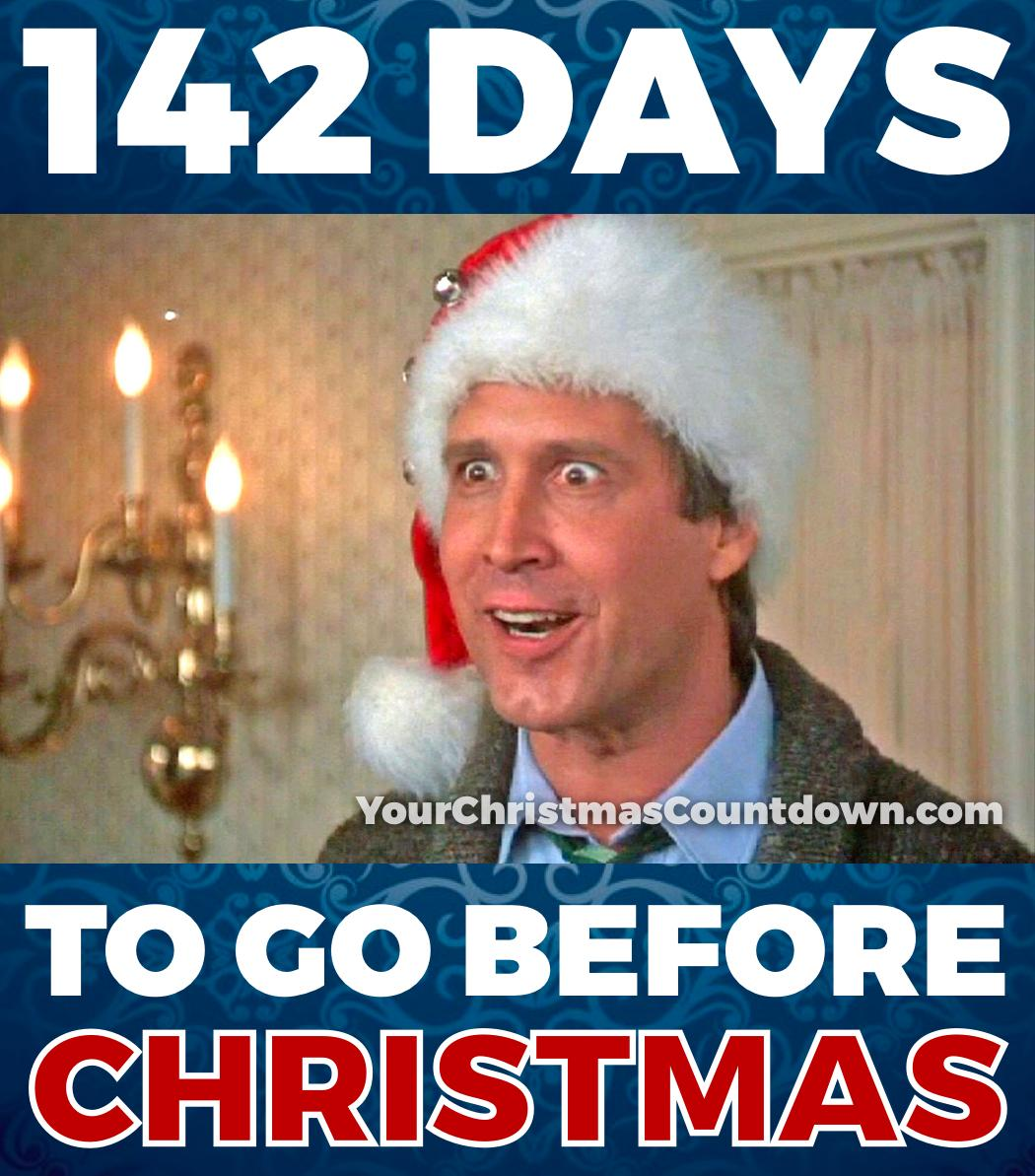 Countdown To Christmas Meme.Your Christmas Countdown On Twitter 142 Days Until