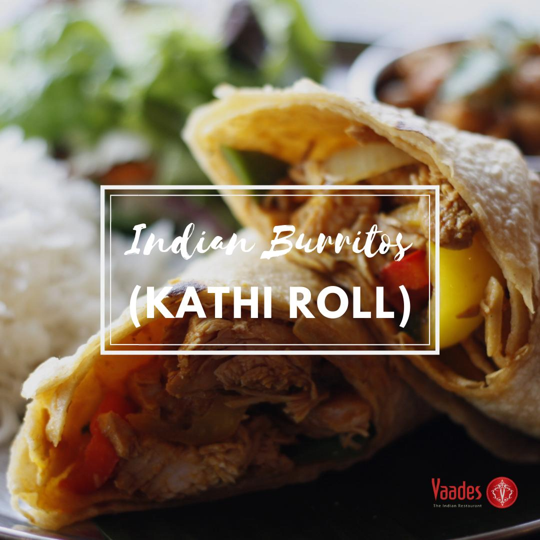 Taste the delicious Indian Burritos (Kathi Roll) in Vancouver city only at Vaades Indian Restaurant. Place your order at  or call us at ☎ +1 604-973-0123. - #foodies #tastyfood #deliciousfood #KathiRoll #IndianBurritos #VaadesRestaurant