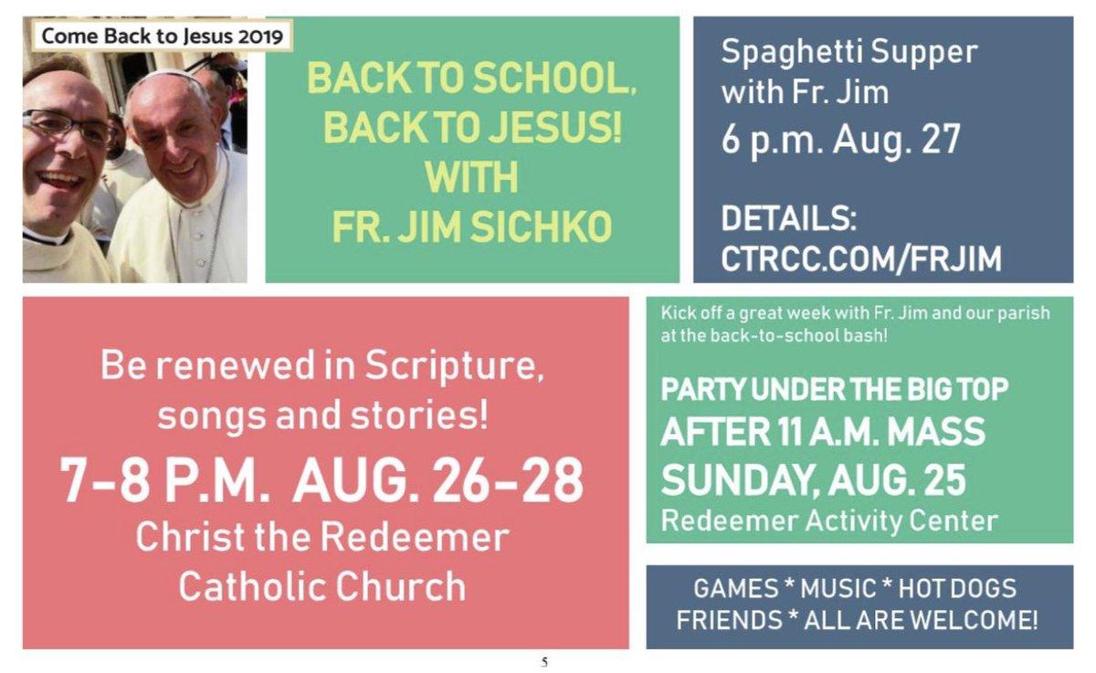 Father Jim Sichko on Twitter: