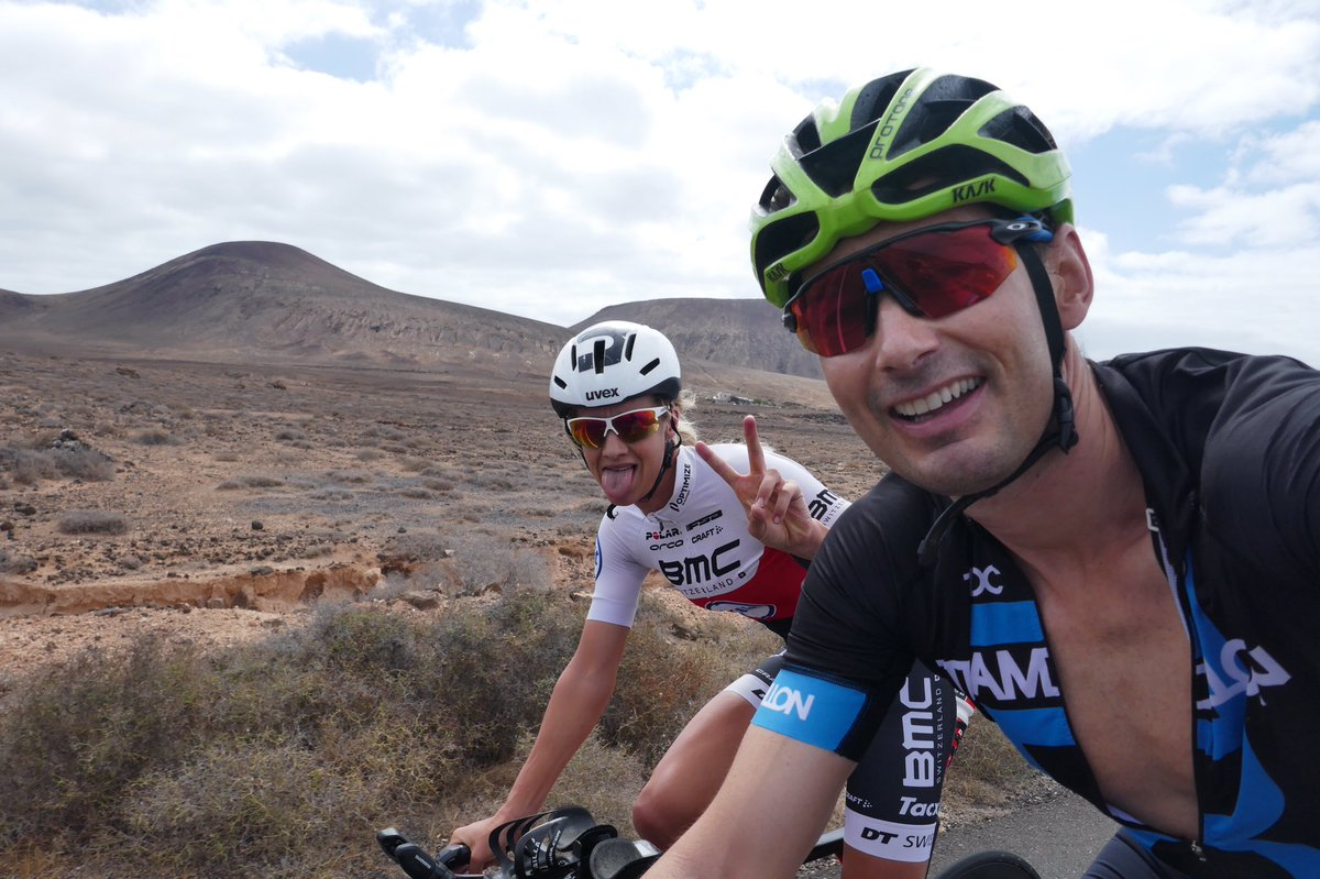 Never let a stumble in the road end a journey!! Great to be finally back outside on the bike enjoying the roads of Lanzarote @EmmaPallant @Teamdillon @ActiveLanzarote #cycling #active #bethebestyoucanbe #bodypositive <br>http://pic.twitter.com/JgemM5AppF