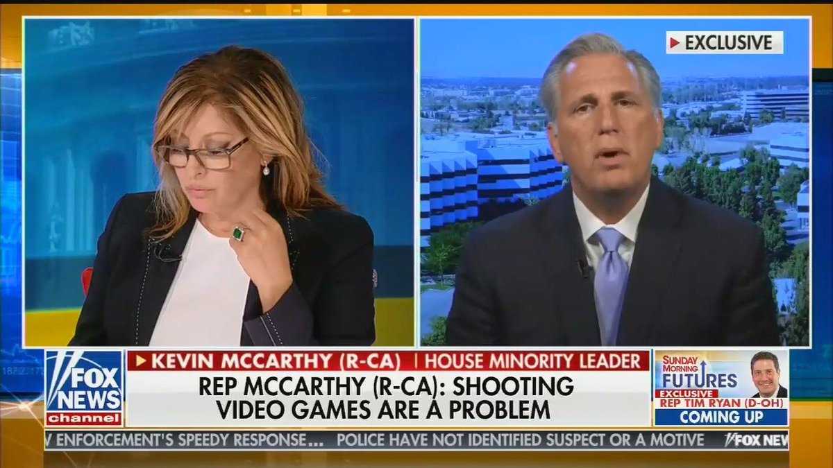 Ocasio-Cortez Tells Off Kevin McCarthy: Blame White Supremacy, Not Video Games