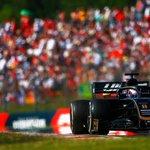 Lap 50/70: Kevin passes Daniel Ricciardo as he pits, to go P14. Romain remains P16.   #HaasF1 #HungarianGP