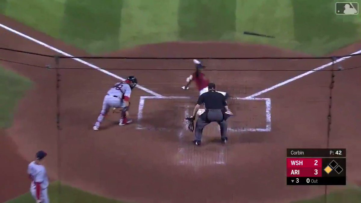 Video: Inside-The-Park Home Run During Diamondbacks-Nats Game