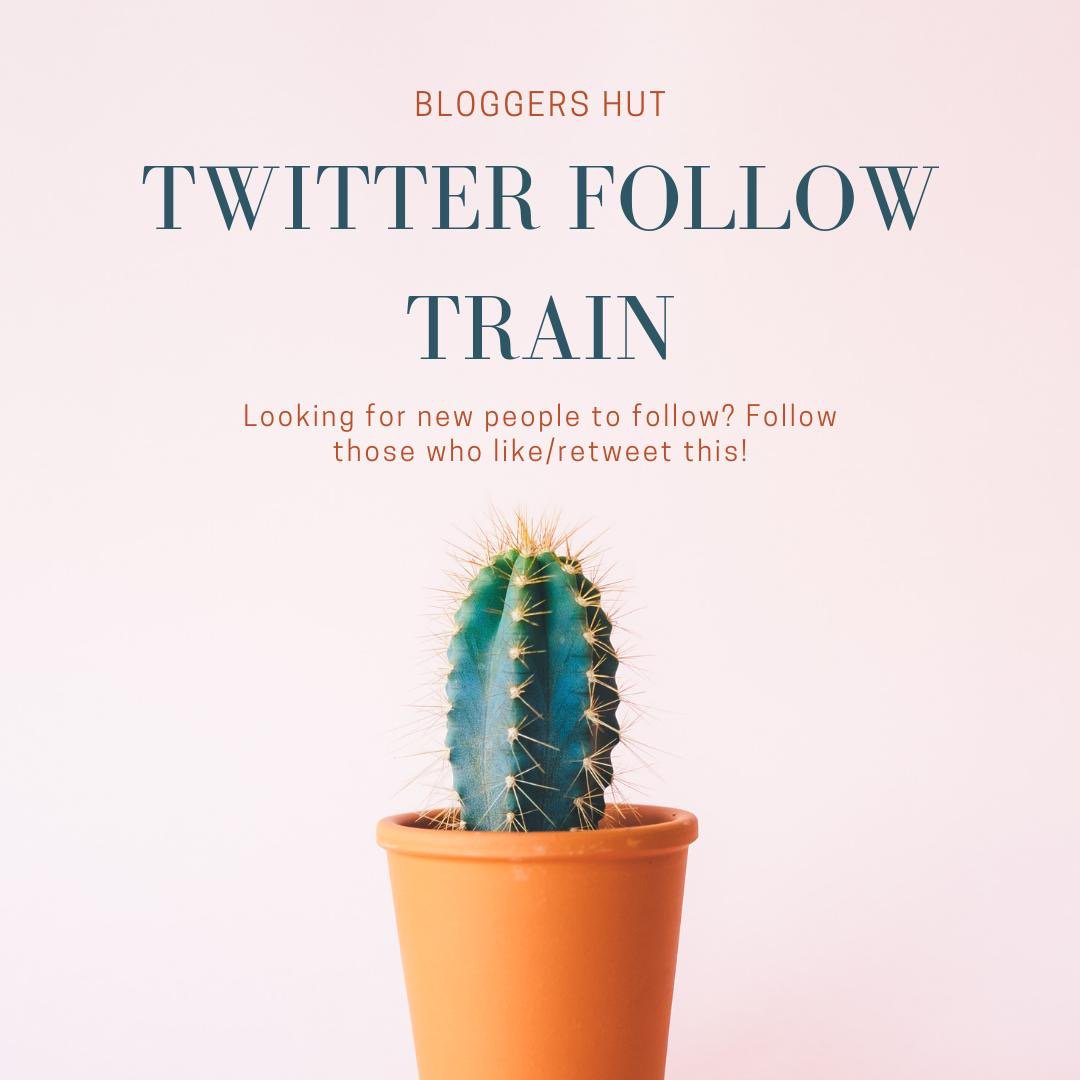 TWITTER FOLLOW TRAIN   Leave your handles and follow each other, spread the love!   #BloggersHutRT #bloggerswanted <br>http://pic.twitter.com/suBeg4M0NG