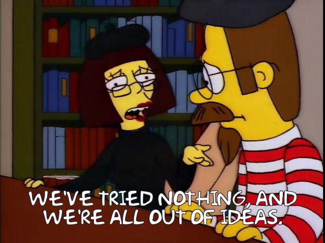 The US government, whenever a mass shooting happens: #EnoughIsEnough #GunControlNow