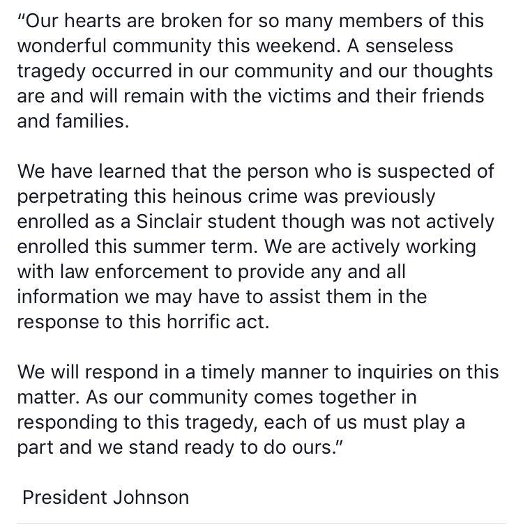 Dayton, Ohio, Shooting: Police Identify Suspect