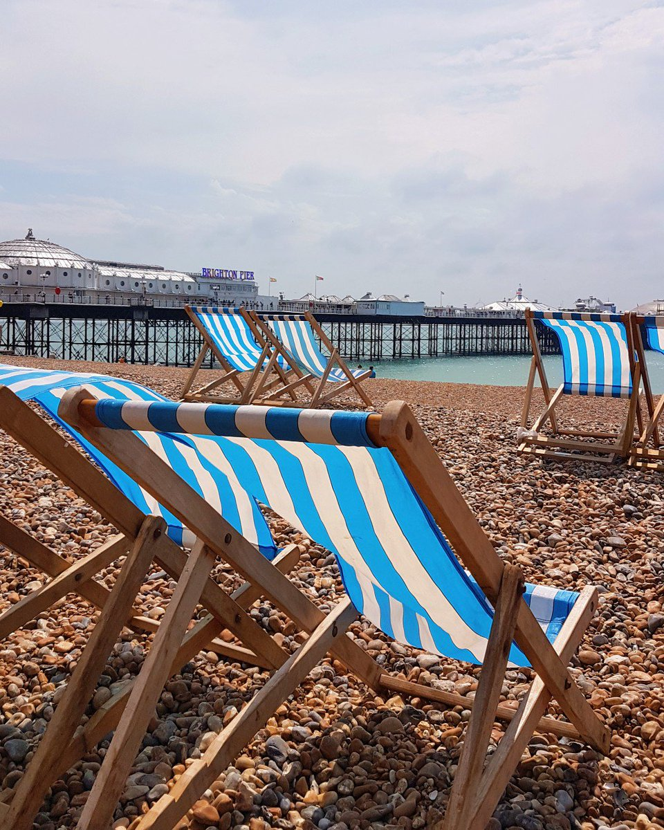 How we love to live and work in Brighton! it has this permanent 'holiday vibe' as we know it https://t.co/2OV5R3WAqv