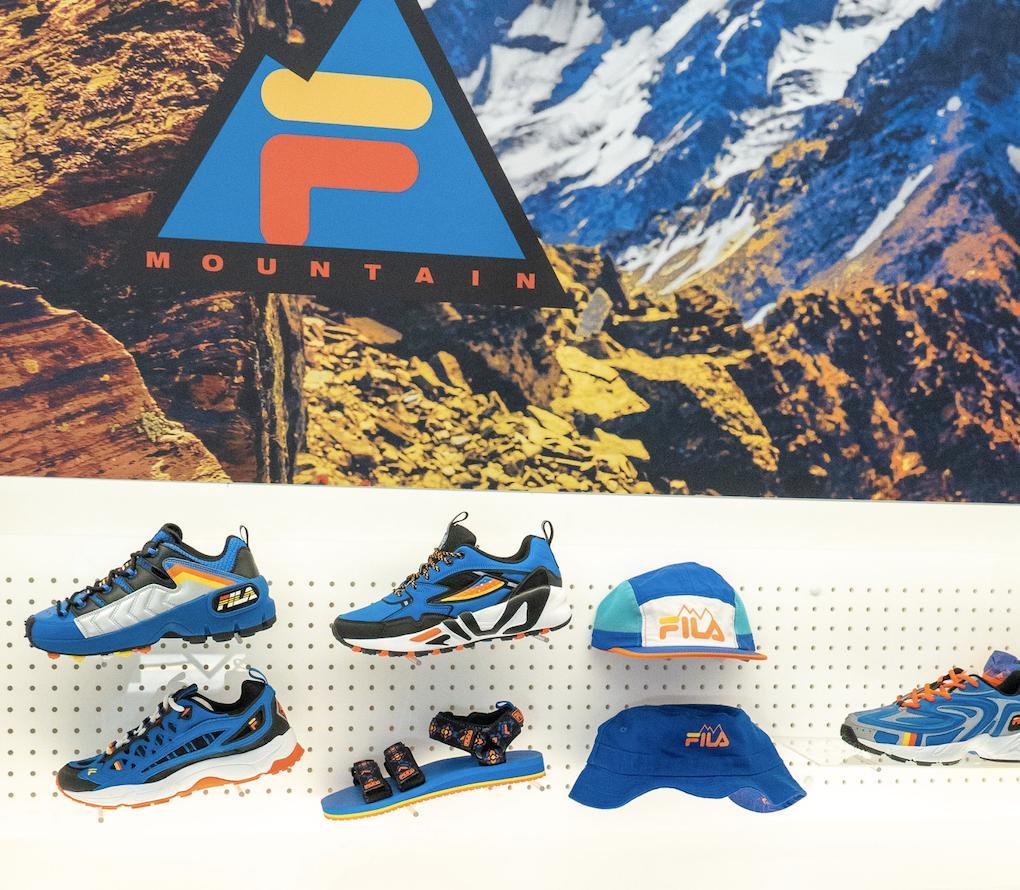 Mountains Collection FILA Explore  FILA Explore