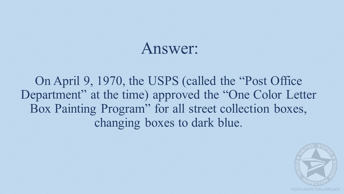 U  S  Postal Inspection Service - Headquarters (@USPISpressroom