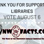 Image for the Tweet beginning: Thanks to NW Facts for