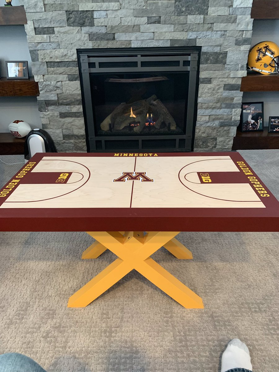 Gopherhole Com On Twitter How Awesome Is This Handmade Gophers Basketball Court Table Well Done Jenksicat3,Dance Studio T Shirt Designs