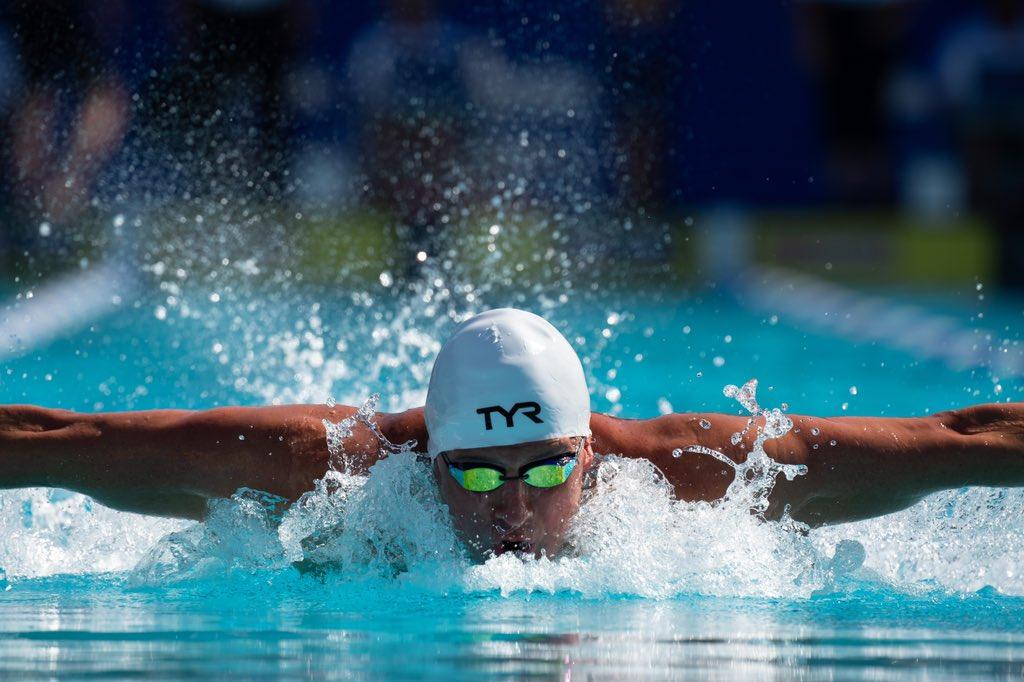 Ryan Lochte Made Quite The Return To U.S. Swimming On Sunday Night