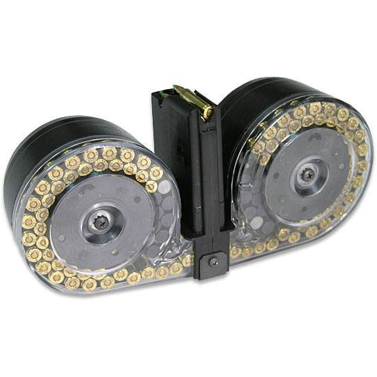 The Dayton shooter legally bought a 100-round magazine like this - purely so he could fire 100 bullets very fast.  Police shot him within 30 SECONDS of his first shot, by which time he'd already killed 9 & wounded 27.  WHY ARE THESE F*CKING THINGS LEGAL, AMERICA? https://t.co/NWi3iyX0eS