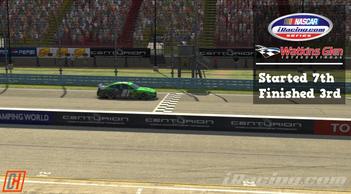 What a race from #TheGlen in the #NASCAR #iRacing Series! I
