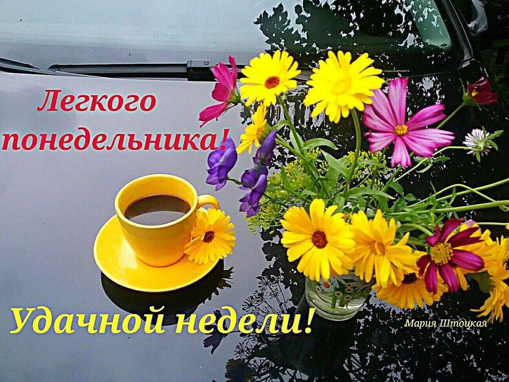 Картинки с добрым утром и удачной недели прикольные