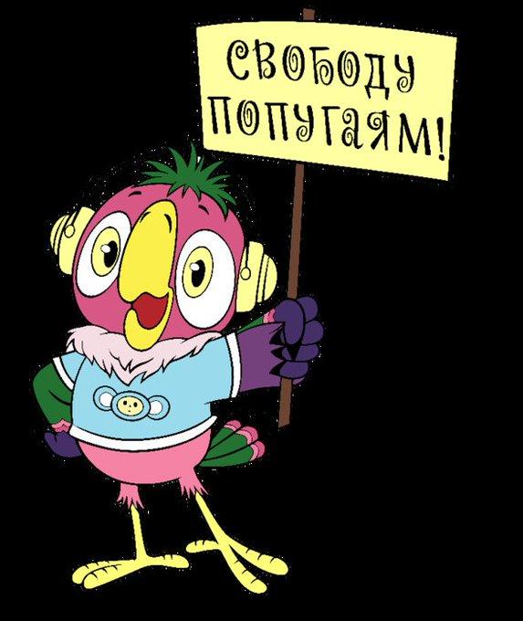 Свободу попугаям картинки