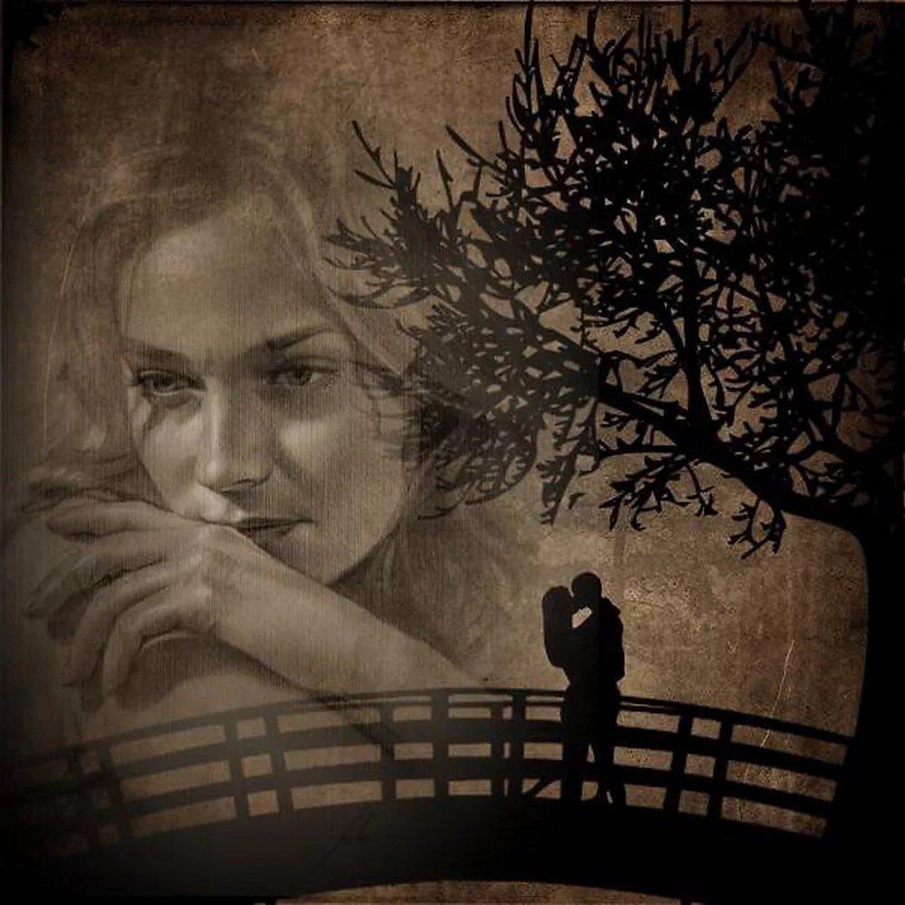 Днем, картинки с воспоминаниями о первой любви
