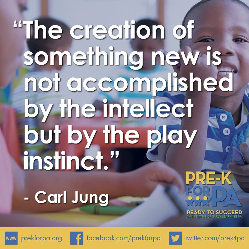 Creativity is the basis for so many learning experiences. #iamprek #PowerOfPlay