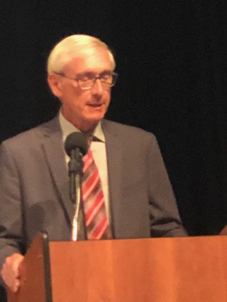 Evers thanks @WiscEdNetwork