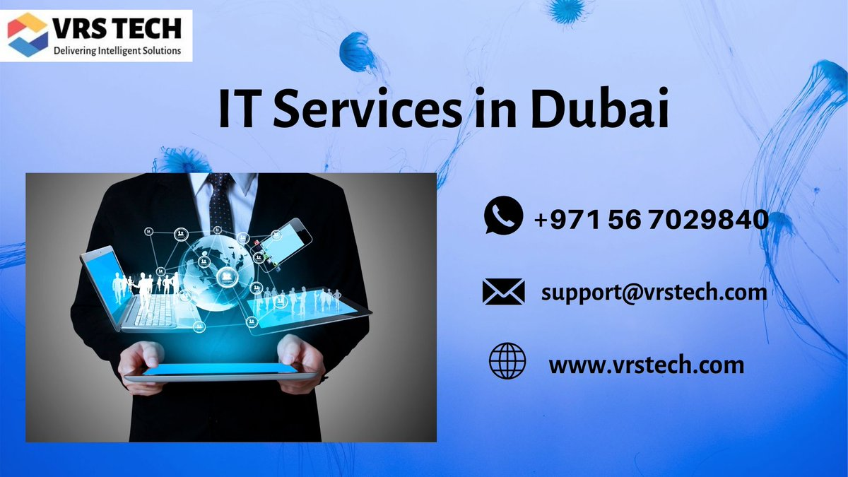 VRS Tech is the leading IT consultant and support company in Dubai offering IT services, support, security and more call us on +971 56 7029840 #ITservicesdubai #ITsolutionsindubai #ITsolutionDubai #Dubai #UAE #technology #ITsecurity  More Info: http://bit.ly/2YqrYfw pic.twitter.com/St7LaPS7Lm