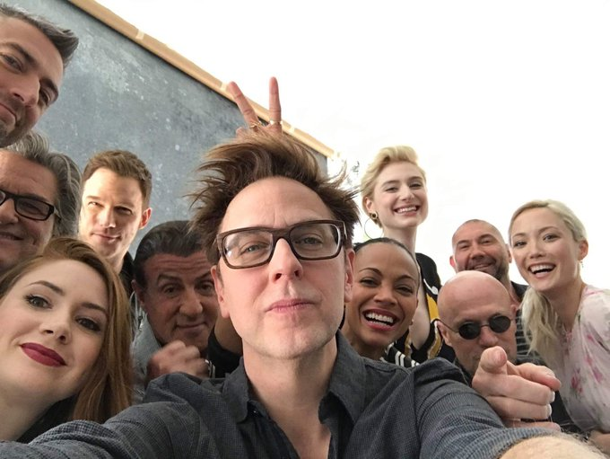 Happy Birthday James Gunn! Thank you for coming back to the MCU! I am expecting Guardians of the Galaxy 3