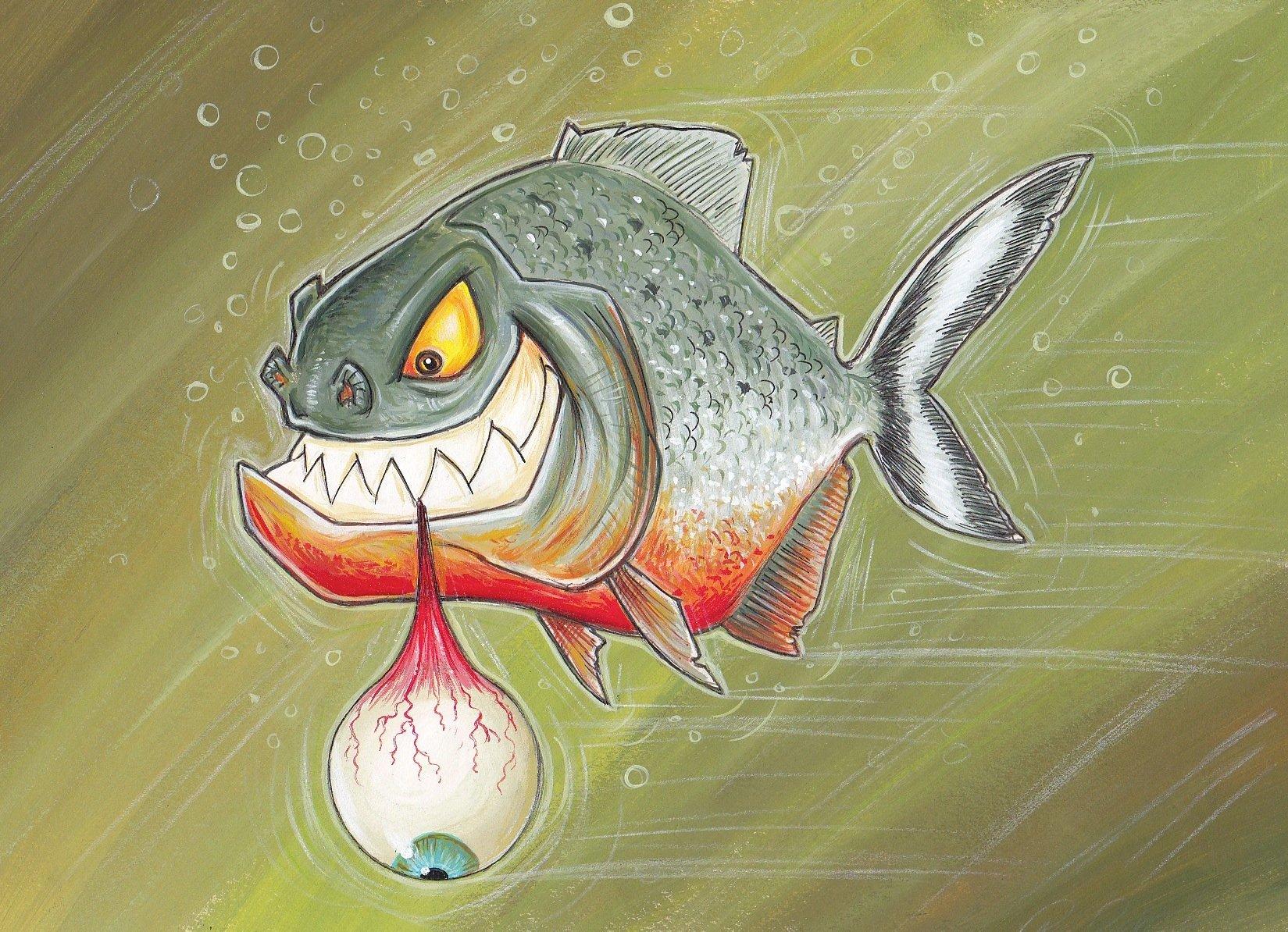 прикольная картинка рыба в виде доктора меня два
