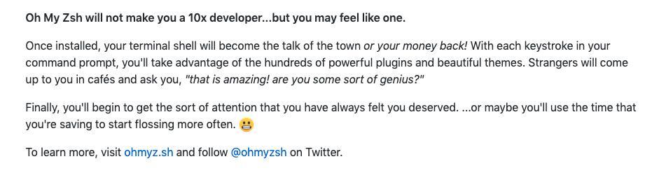 oh my zsh 🌈⌨️🐚 (@ohmyzsh) | Twitter
