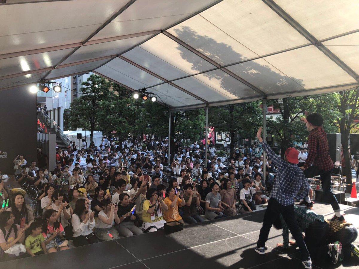 8/3, 8/4 秋葉原にて行われました「夏葉原」内、「UDX夏祭り」に  弊社所属 RAB(リアルアキバボーイズ) GinyuforcE 出演致しました。 https://t.co/yweoahZf5t