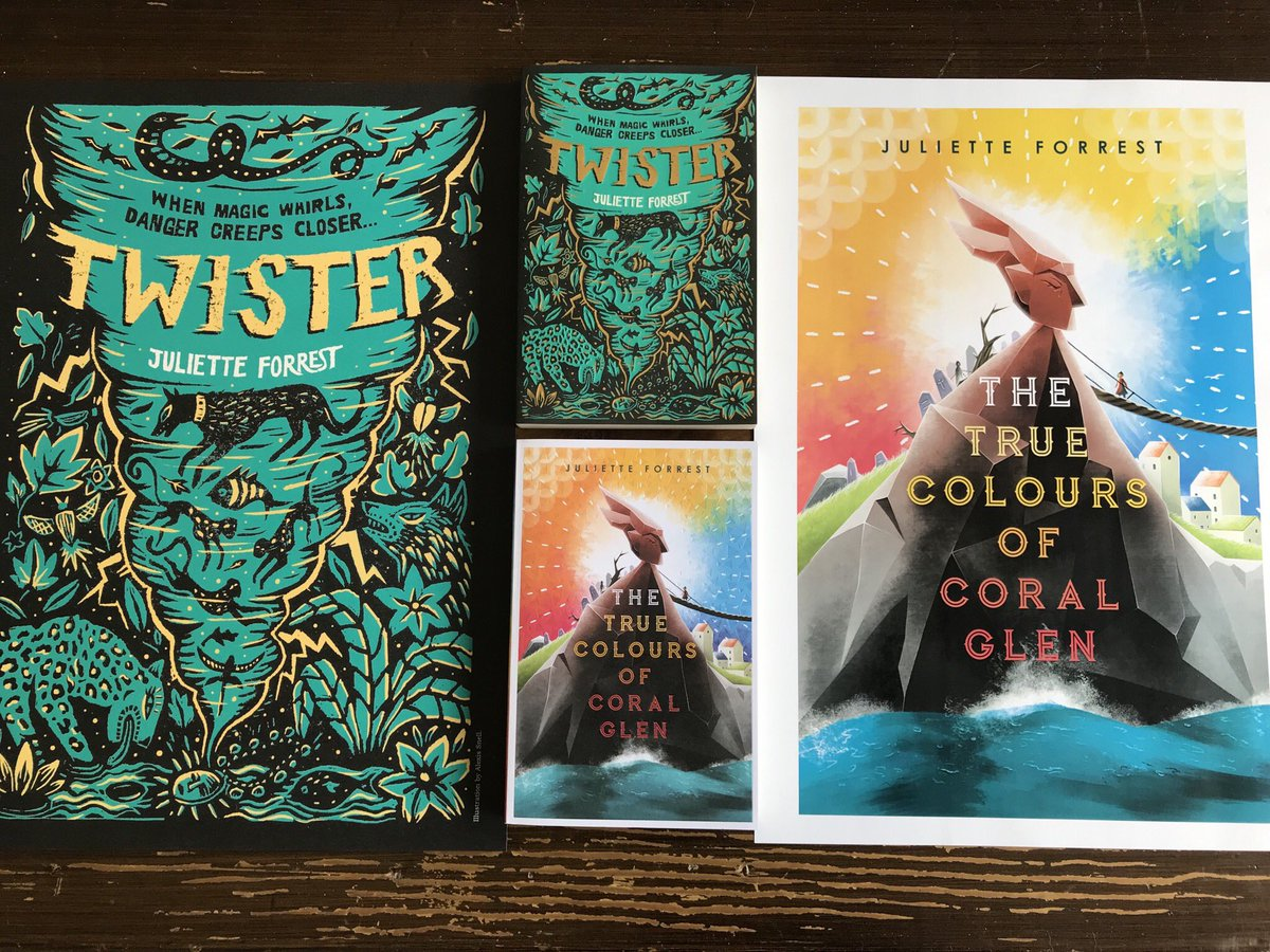 Teachers! Schools! Libraries! I'm giving away signed copies of #Twister and #CoralGlen plus 2 gorgeous limited edition signed posters. Simply follow and retweet to be in with a chance. One lucky winner will be chosen on Monday 12th August. UK only. Good luck! 🌪🌈