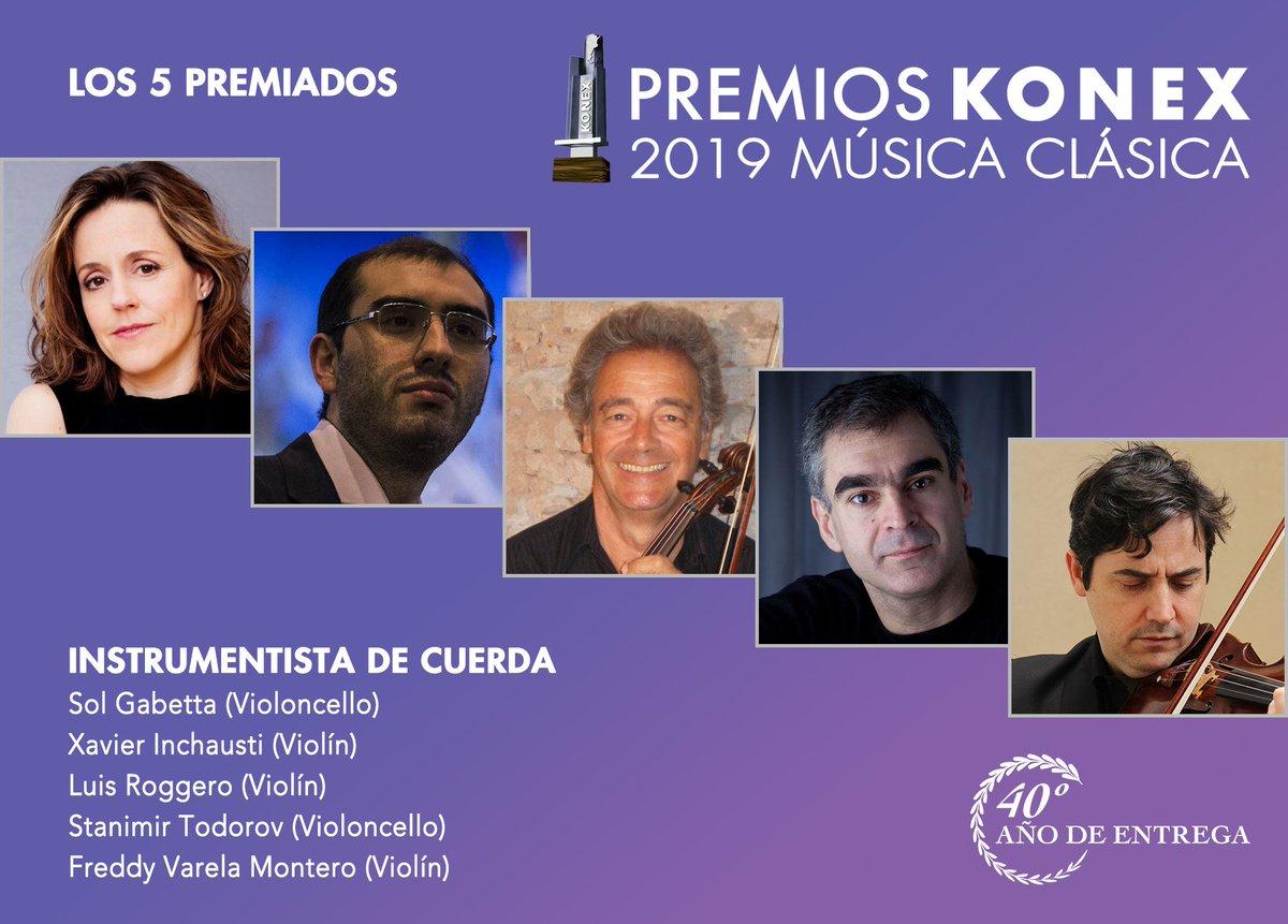 Image result for Premios Konex 2019 a la música clásica