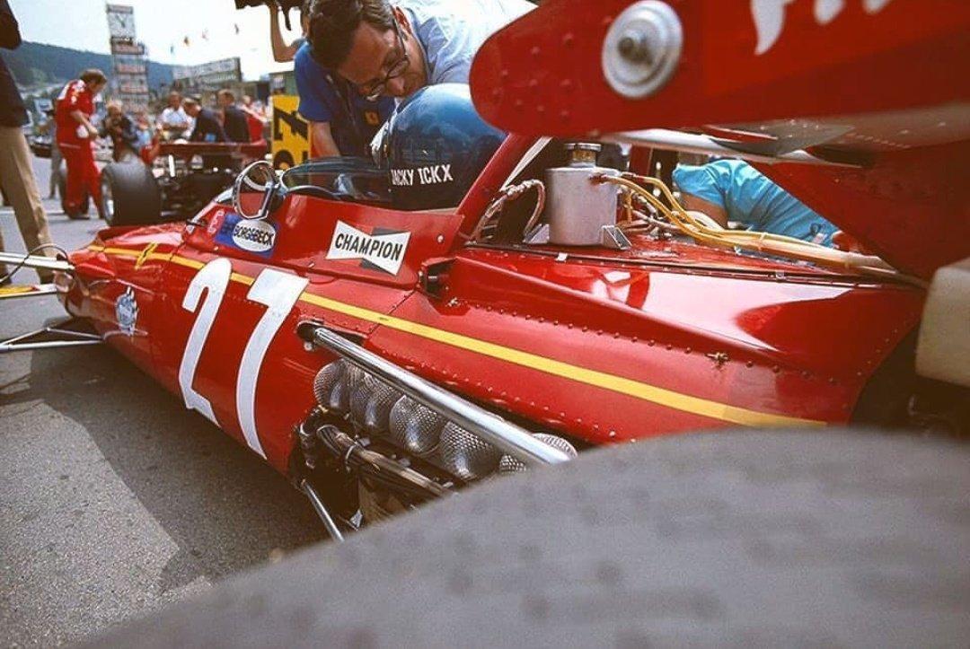 1970 yılında Ferrari'nin şahlanan atı 312B #ferrari312b https://t.co/PxXyUxe0P6