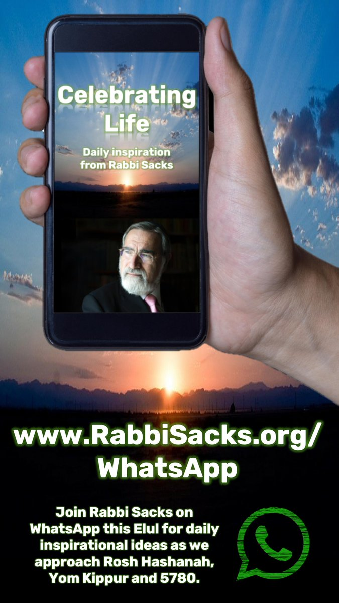 Welcome to the website of Rabbi Lord Jonathan Sacks