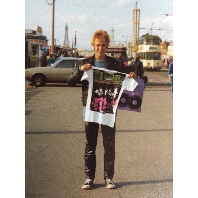 Black pool 1980 with an X Ray Spex T-shirt!. . . #xrayspex #germfreeadolescents  #iamacliche https://t.co/ewMMRR8QCa https://t.co/c9Dodb5uZc
