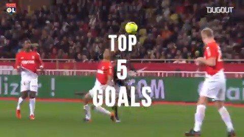 Avant #ASMOL, découvrez les 5 plus beaux buts de la #TeamOL face à Monaco ! 💪🔴🔵