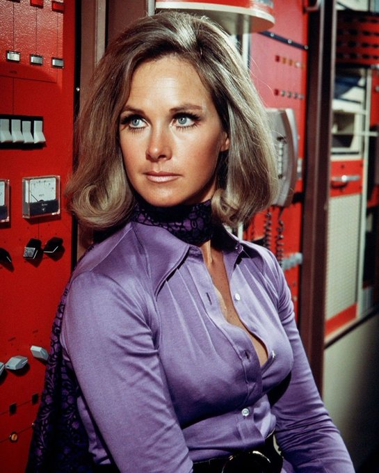 Happy birthday to Wanda Ventham, seen here in UFO: Timelash.