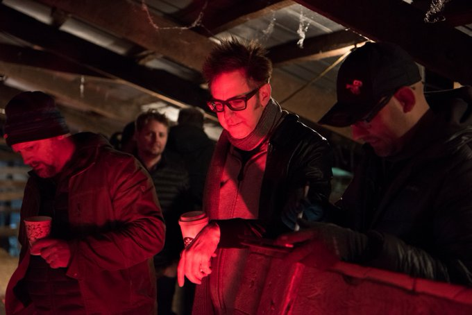 SonyPicturesUK - Happy Birthday to Producer James Gunn! Have you been brave enough to watch yet?